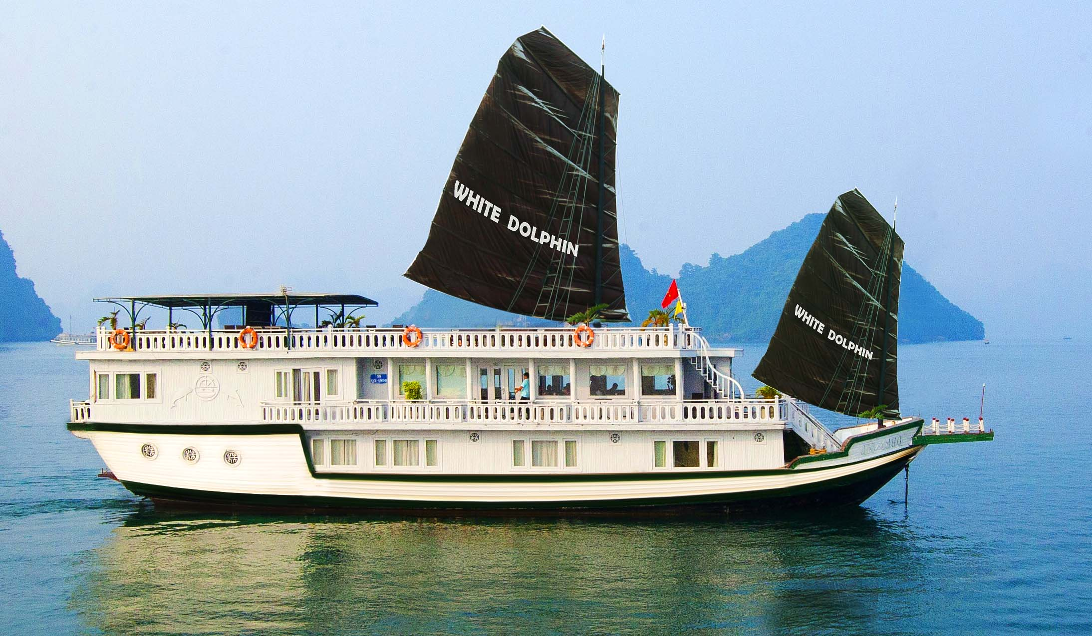 Bai Tu Long Bay - Ha Long Bay 2Days 1Night Sharing Cruise